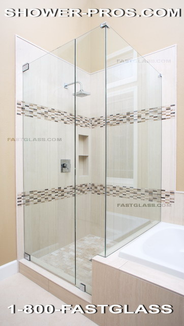 Delightful We Specialize In Luxurious Heavy Glass Frameless Shower Doors, All The Way  From Design To Installation. We Use High Quality 3/8 Or 1/2 Glass To  Achieve The ...